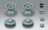 Taigen sprocket and idler wheels for Heng Long Tiger 1 1/16 scale